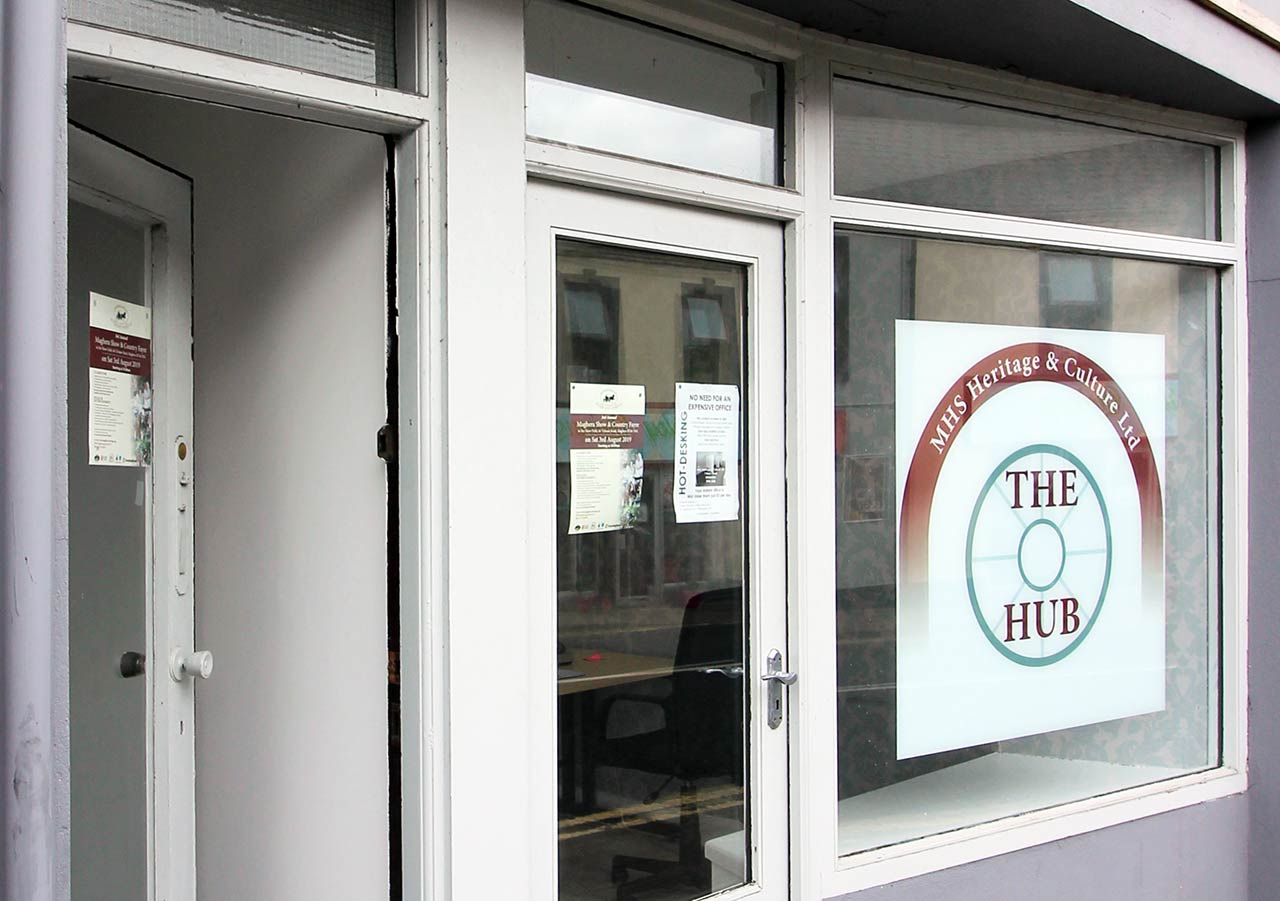 the hub maghera office space and hot desks